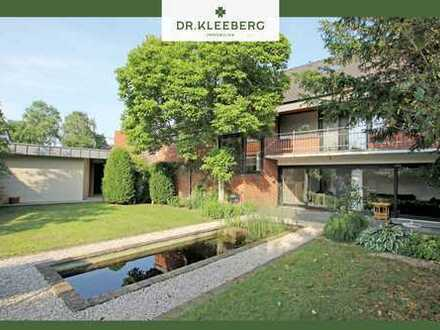 Außergewöhnliches Wohnhaus mit elegantem Garten in zentrumnaher Lage von Greven