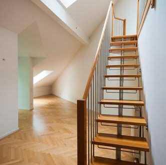 [Neu] Sonnige 4-Zimmer DG-Wohnung in Top-Lage Harlaching-Menterschwaige am Isarhochufer