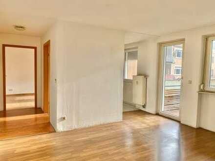 Schöne 3-Zimmer-Wohnung mit Balkon in Zentrum Nürnbergs