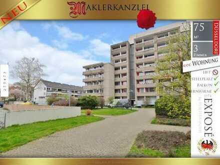 +++ NEU +++ 74 m² auf 3 Zimmer und Balkon in 2. Etage ohne Lift jedoch inkl.. Stellplatz!