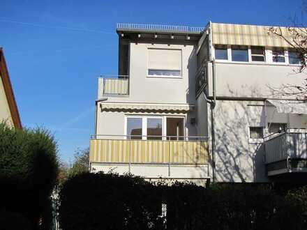 Helle und ruhige 3-Zimmer-Wohnung mit zwei Balkonen in bevorzugter Lage in Neckarsulm
