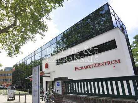 Hohenzollern-Klinik || 103 - 207 m² || Praxisfläche im Facharztzentrum