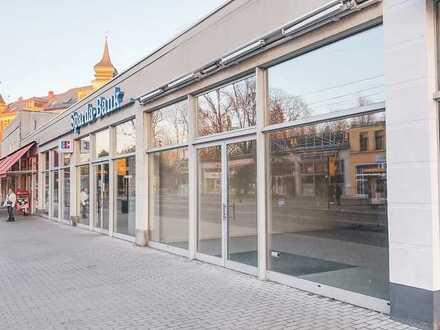Gewerbefläche mit großer Schaufensterfront in Dresden-Löbtau zur Miete