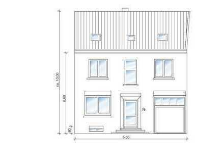 Provisionsfrei! Wohn,-und Bürogebäude in Dülmen-Buldern