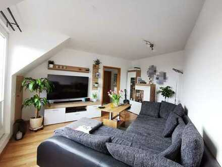 Preiswerte, gepflegte 2-Zimmer-Dachgeschosswohnung mit Balkon in Bad Fallingbostel