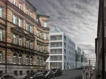 NEUBAU-ERSTBEZUG! 5-Zi.-Wohnung mit einer Loggia ab 01.11.2020 in der Marienvorstadt