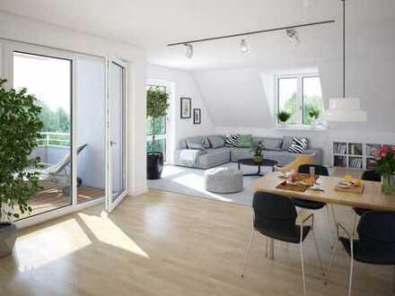 3-Zimmer-Neubauwohnung mit großer Loggia