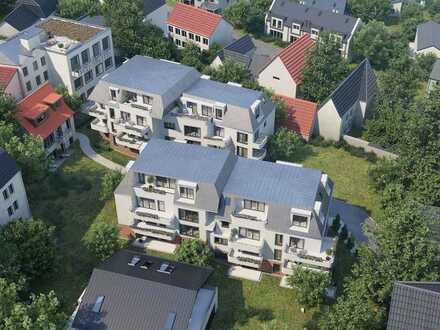 Dachgeschosstraum mit großer Dachterrasse: Ruhig und modern wohnen mit kurzen Wegen in die City!