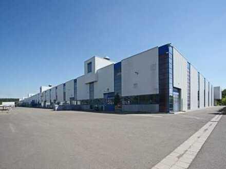 Moderne Logistik-/Produktionsfläche mit Rampe + Gleisanschluss ab sofort PROVISIONSFREI zu vermieten