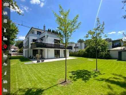 Neuwertige 4-Zimmer-Gartenwohnung in absolut ruhiger Lage am Pasinger Stadtpark