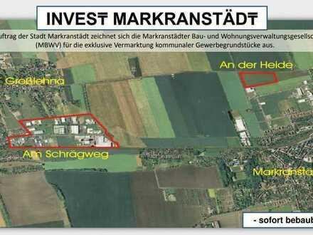 INVEST MARKRANSTÄDT Gewerbegrundstück Markranstädt Ortsteil Großlehna
