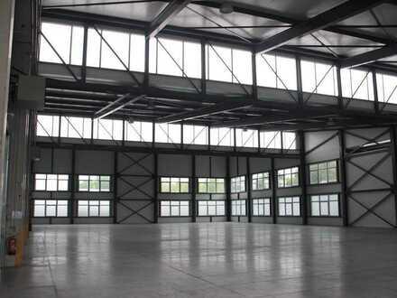 Moderne Produktions- und Lagerhallen im Gewerbegebiet Heinsberg-Dremmen zu vermieten