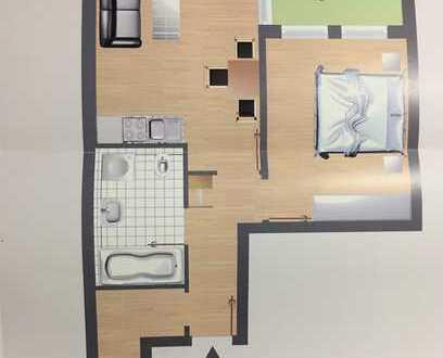 Schöne zwei Zimmer Wohnung in Sindelfingen direkt Stadtmitte