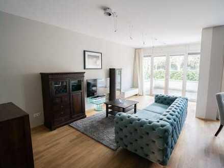 Bestlage! 2-Zimmer-Wohnung in großartiger Terrasse vis á vis zum Uni-Campus Westend