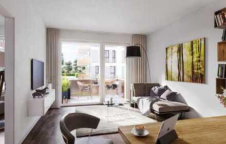 PANDION VILLE - 2-Zimmer-Wohnung mit HWR und großem Balkon - Erstbezug