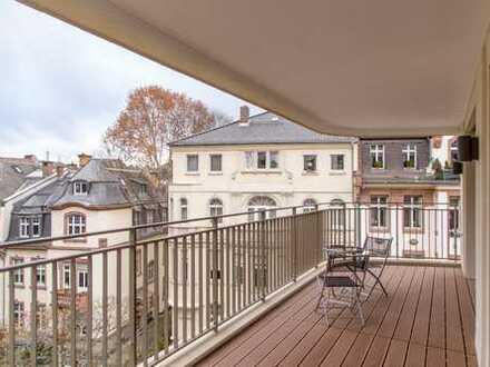 Noble Wohnung der Extraklasse // großer Westbalkon //Top-Ausstattung