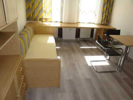 Unilage! Möblierte 1-Zi.-Wohnung, Wfl. ca. 20 m²