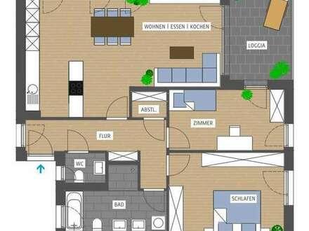 3-Zimmer-Wohnung mit Aussicht