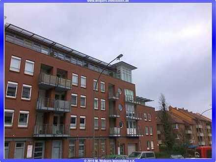 """""""Downtown Harburg"""" - Courtagefrei - 2 Zimmer WHG im Staffelgeschoss (ca. 54,00 m²), TG Stellplatz"""