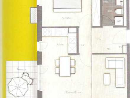 Schöne Zwei-Zimmer-Wohnung in Karlsfeld