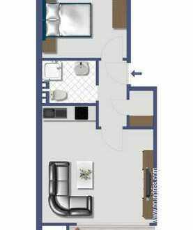 Dachgeschosswohnung in einem 10 Familienhaus