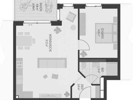 Erstbezug, 2-Zimmer-Wohnungen, Neubau Neusäß Mitte