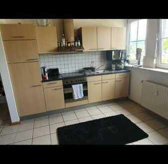 Schicke 2 Zi-KÜ-Bad Wohnung, zentral in Wittlich, dennoch sehr ruhig, Einbauküche