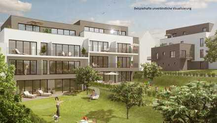 Wohnen in Grünen, aber zentral! Neubau 3-Zimmer-Wohnung mit Einbauküche