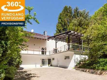 Seminarhaus mit Wohnung im Grünen: 2016 modernisiert, 730 m² Gesamtfläche
