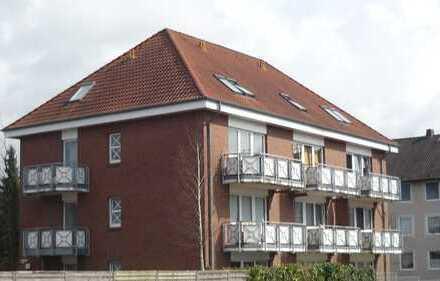 Zentrale 1-Zimmer-Wohnung mit Balkon und PKW-Stellplatz!