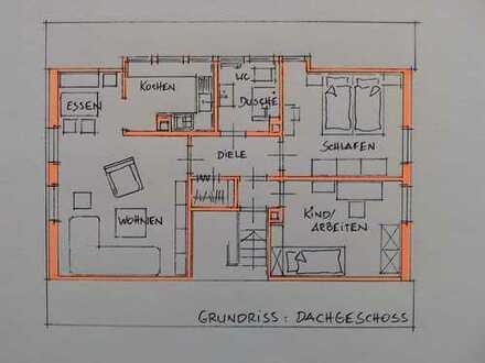 Modernisierte, schöne 3-Zimmer-Wohnung in 33824 Werther (Westfalen)