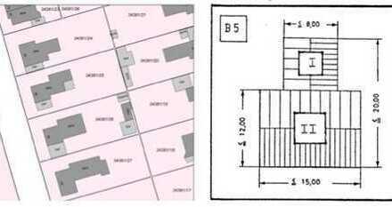 Grundstück mit Altbestand zur Wohnbebauung 68307 Mannheim – Auf der Blumenau 28 zu
