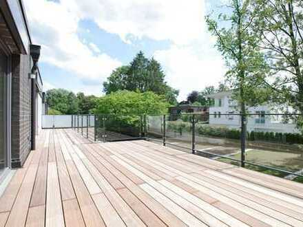 Attraktive 4-Zimmer-Neubau-Wohnung mit exklusiver Dachterrasse in Sackgassenlage!