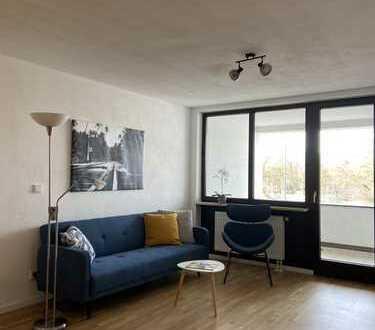 Möblierte Wohnung mit praktischem Schnitt