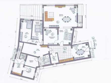 170m2 5 Zimmer-Wohnung mit eigenem Garten / EBK in Feldrandlage
