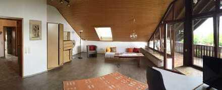 Großzügige Studio-Wohnung mit Balkon und Küche mitten in Ilshofen