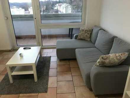 Schönes Apartment mit Einbauküche und Balkon in zentraler Lage und mit toller Aussicht