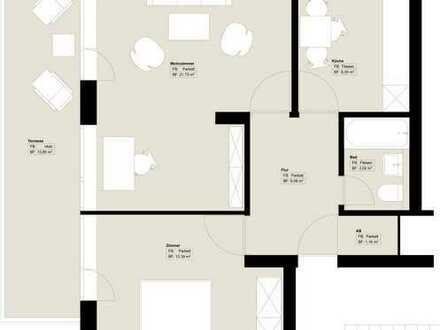 Schöne zwei Zimmer Wohnung in Hamburg, Blankenese