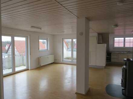 Lichtdurchflutete 3-Raum-Maisonette-Wohnung mit 3 Balkonen in Kusterdingen-Mähringen