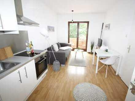 *City-Apartment* 2 Zimmer-Wohnung mit Balkon möbliert inkl. W-Lan & TV & Strom