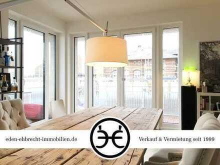 PERLE 5 | Einmalige 3-Zimmer mit EBK | Alter Stadthafen!