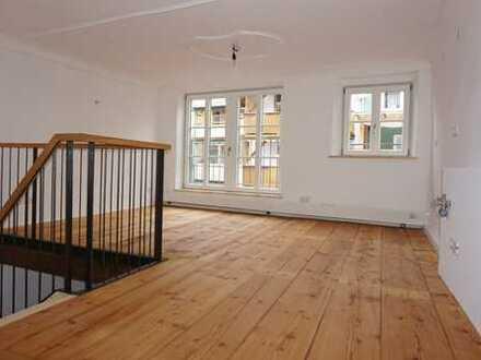 -Erstbezug nach Sanierung- Wunderschöne 3 Zimmer Maisonettewohnung in der Wasserburger Altstadt