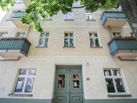 Vermietete Altbauwohnung direkt am Volkspark Friedrichshain