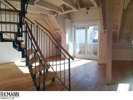 Schöne 3 Zimmer Maisonette Wohnung mit Atelier/Studio zu verkaufen