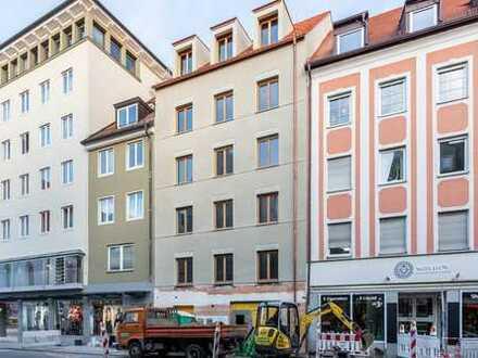 Erstbezug: 3-Zimmer-Neubauwohnung im Ingolstädter Zentrum mit Balkon