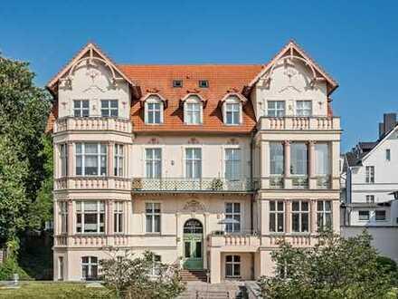 Majestätisch und zentral im Seebad Bansin- Villa Frisia.Sonnige Aussichten.Mitten drin.