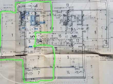 Gepflegte 2-Raum-DG-Wohnung mit Einbauküche in Pforzheim
