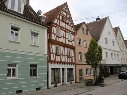 Wohn- und Geschäftshaus im Herzen von Munderkingen mit Potenzial