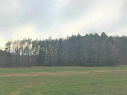 Wald und Acker 1,31 ha LuF Grundstück zwischen Neukirchen u. Etzelwang