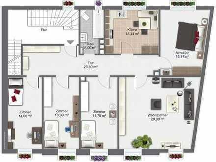 m3147 Helle 4-5 Zimmer-Wohnung Helmbrechts ab 1.5.2019